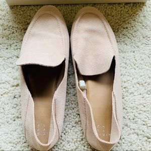 Target A New Day pink suede loafers